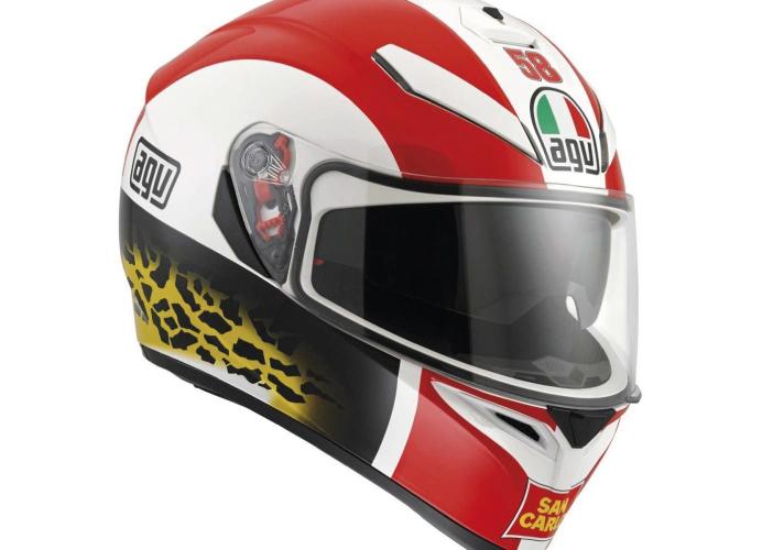 Casco AGV K3 SV Simoncelli