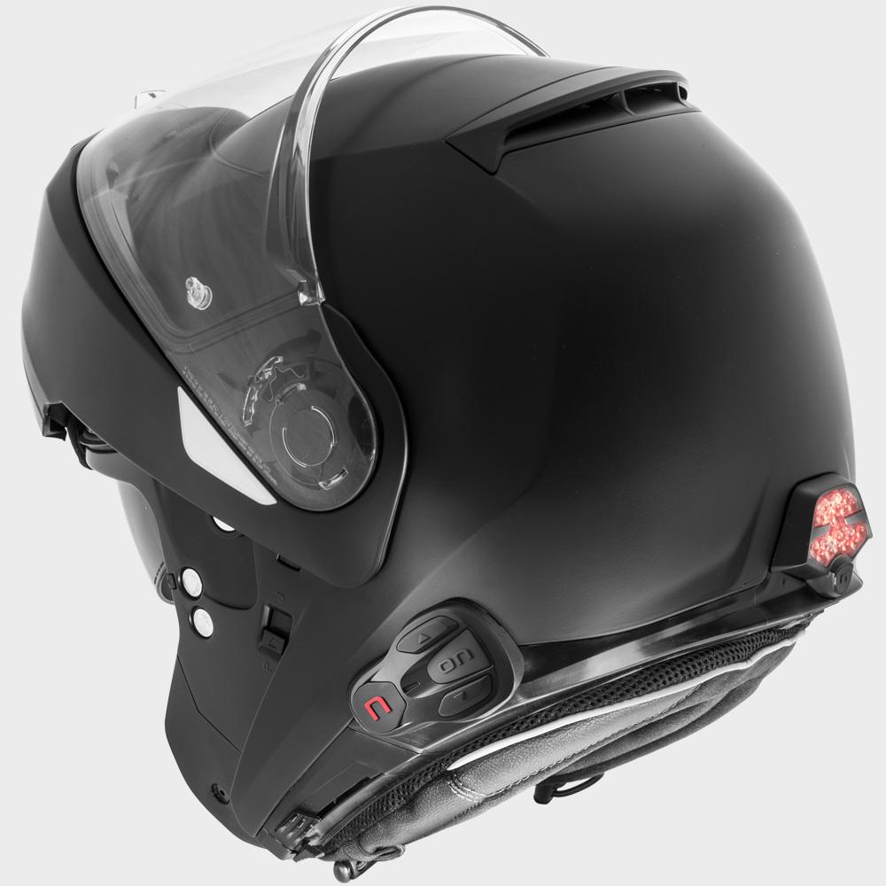 casco con interfono nolan